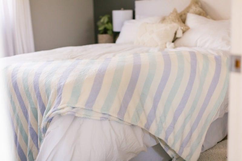 Queen Soft Print Blankets