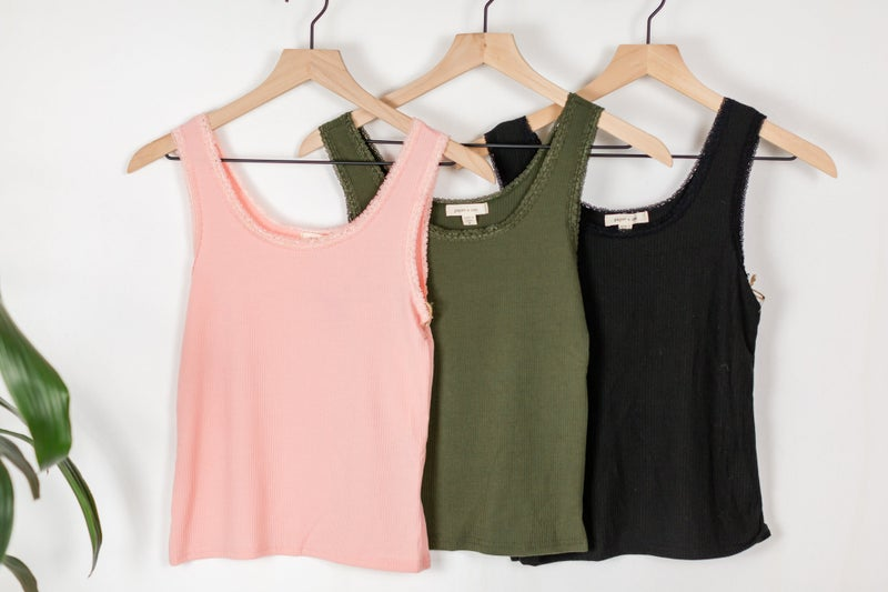 Laced Love Tank