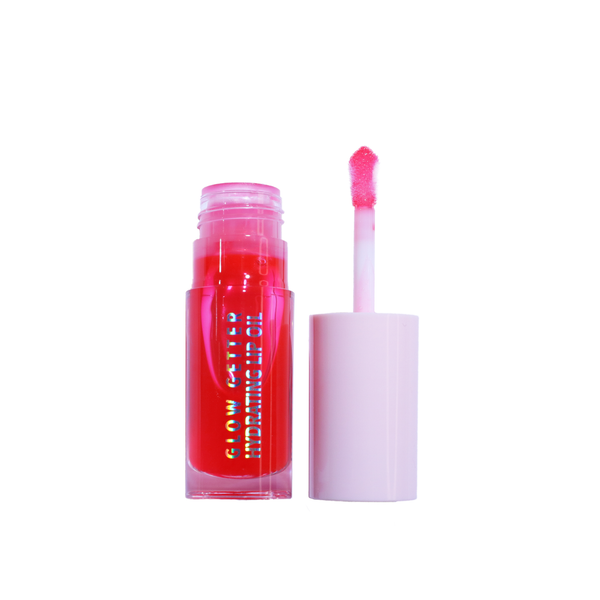 Glow Getter Hydrating Lip Oil - (008 Juicy Red) by Moira Cosmetics