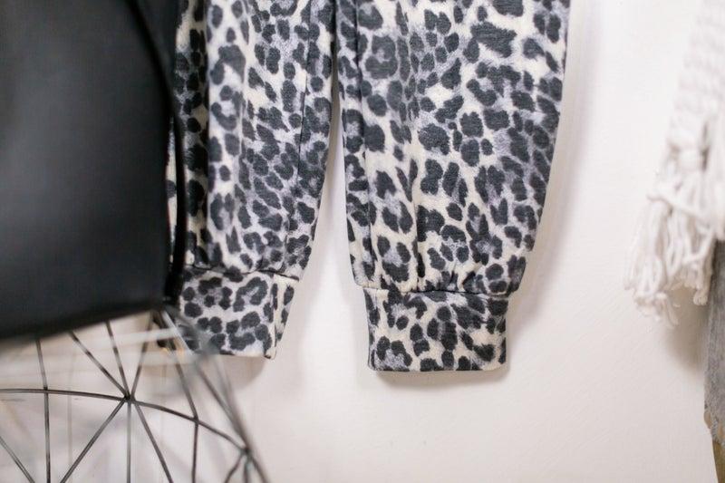 Let's Talk Leopard Jumpsuit