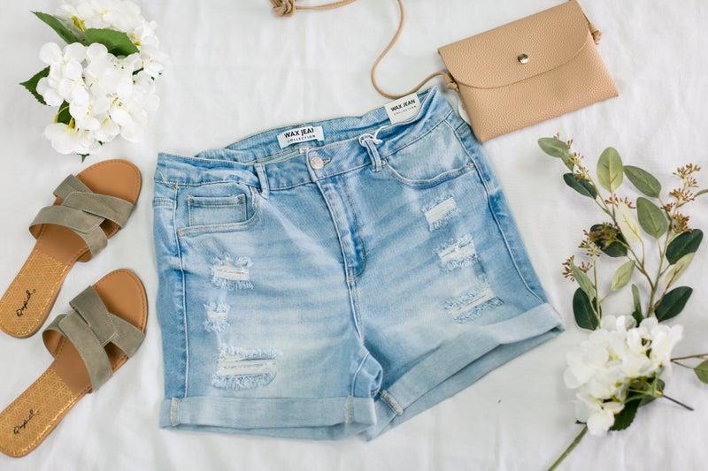 Plus Vintage Shorts