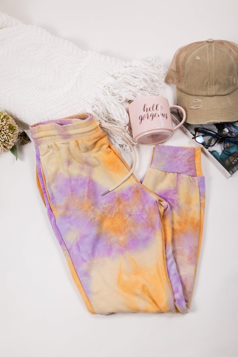 Lazy Day Tie Dye Joggers by Gilli