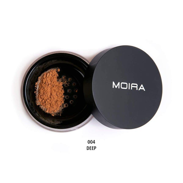 Moira Cosmetics - Loose Setting Powder - Deep