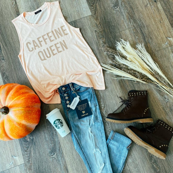 Caffeine Queen Tank
