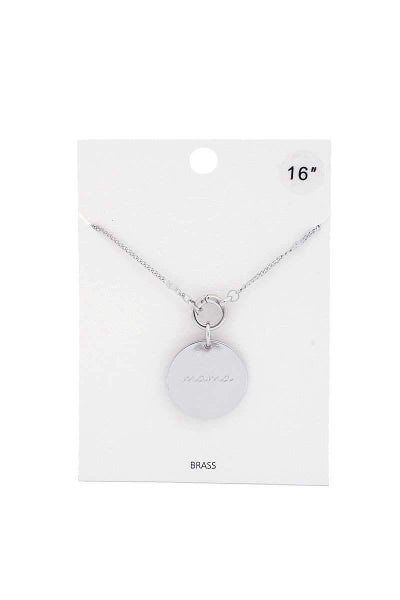 A Mamas Love Necklace