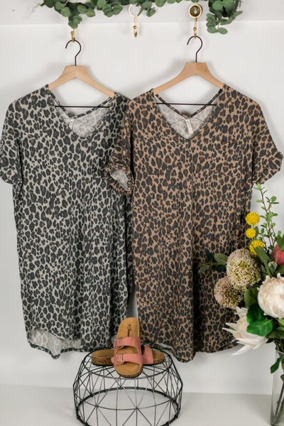 Trendsetter Leopard Tunic by Mittoshop
