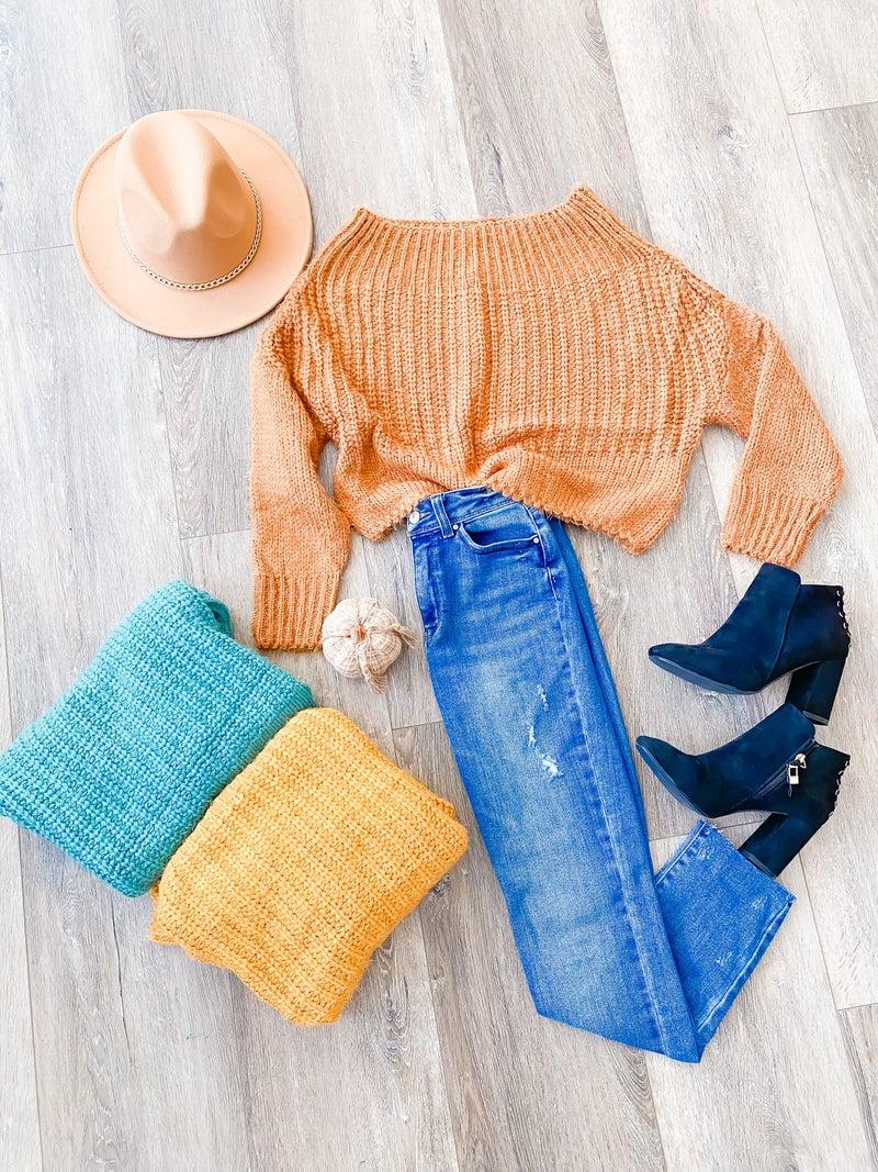Pumpkin What A Dream Sweater