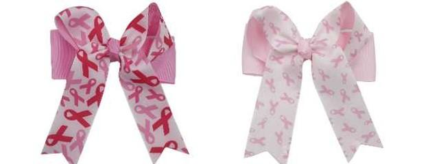 Breast Cancer Awareness Cheer Bows