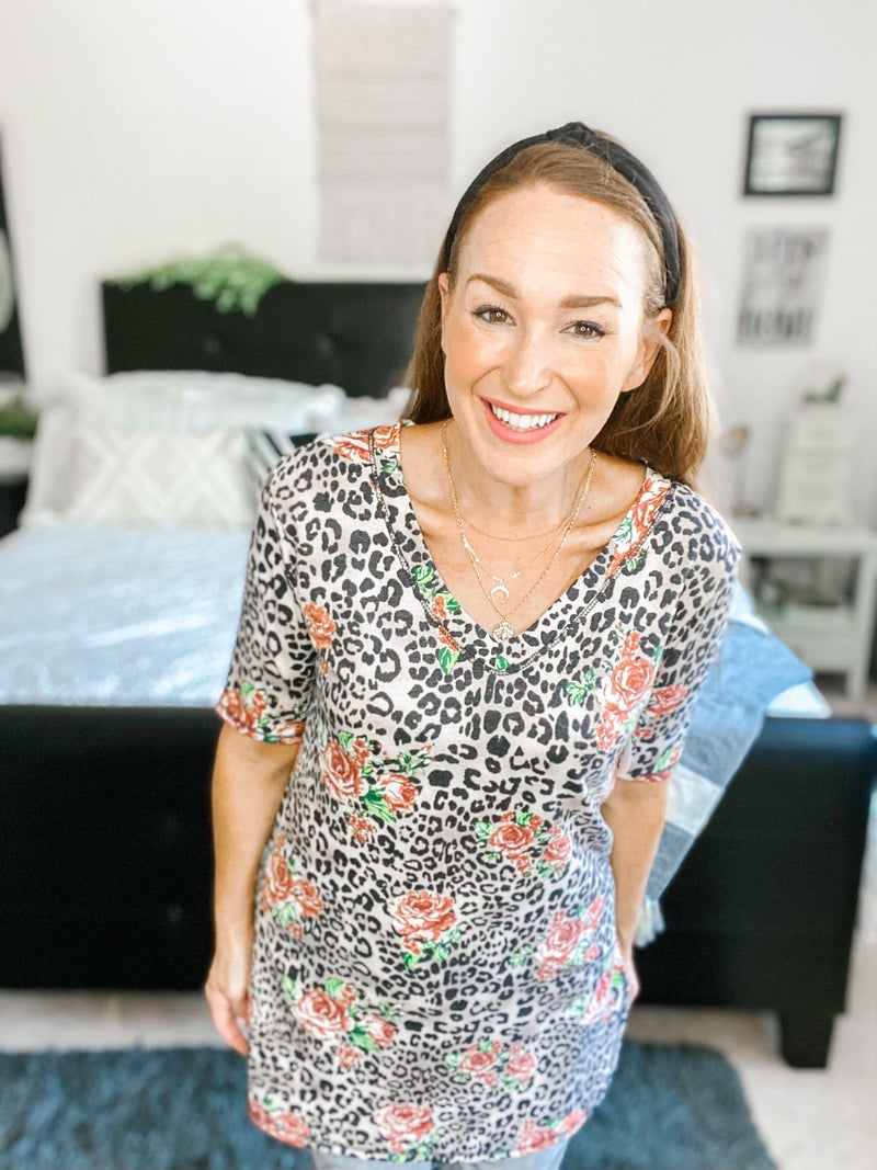 Wild For Florals Tunic