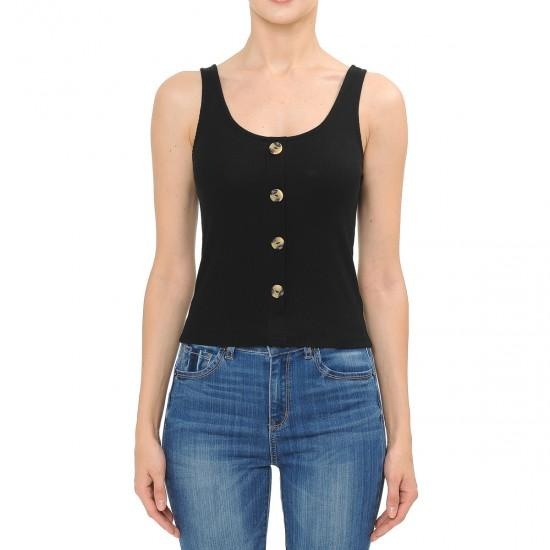 Button It Up Tank