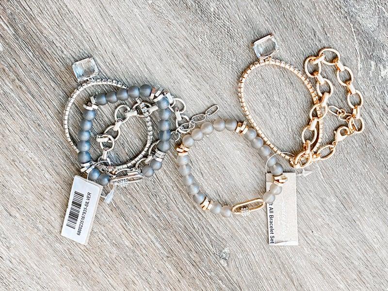 Give It All Bracelet Set