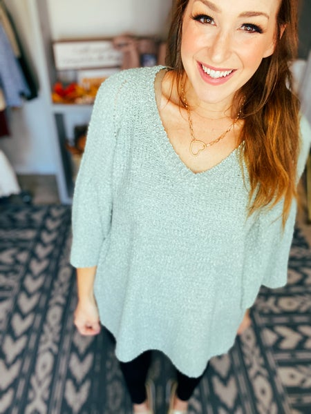 Charde Sweater Top by Chrysanthemum