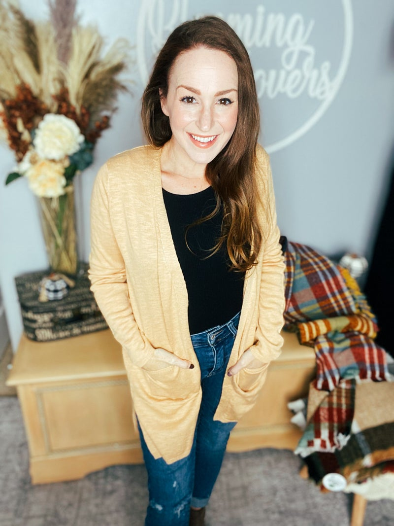 Classic Camel Fall Cardy