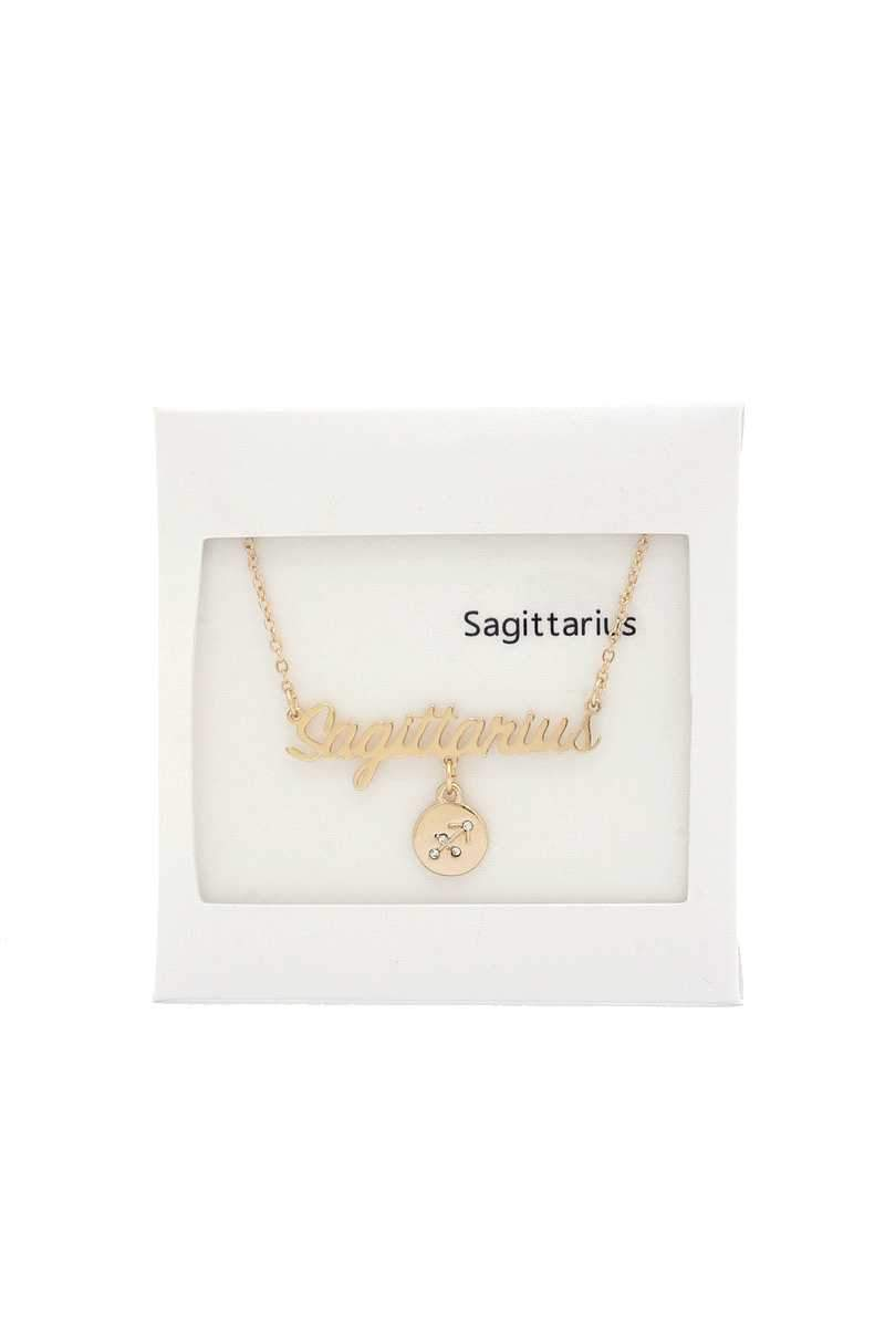 Baby, What's Your Sign Necklace
