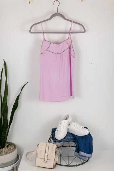 Lilac When The Sun Shine Cami by Skies Are Blue