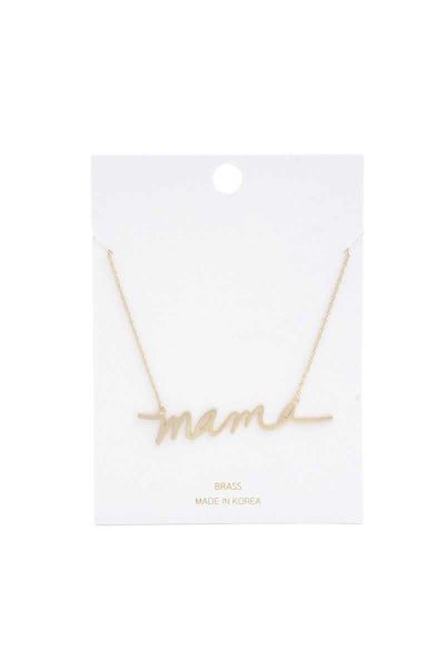 Mama Forever Necklace