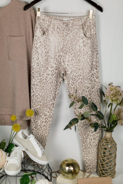 Running Wild Leopard Pants by e.ssue