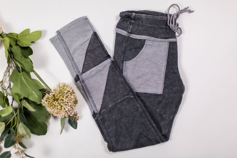 Black Walking Out On You Legging/Joggers by Rae Mode