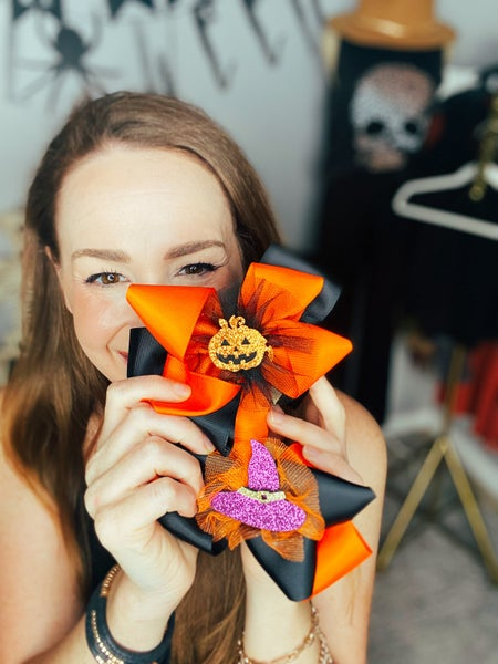 Spooky Scary Halloween Bows
