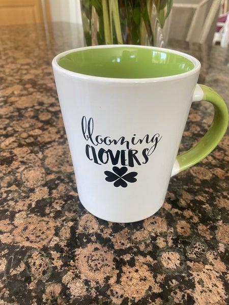 Blooming Clovers Mug