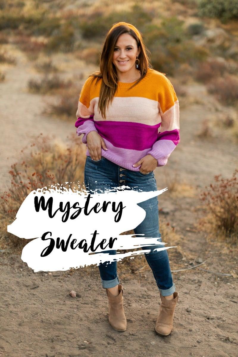 Mystery Sweater *Final Sale*