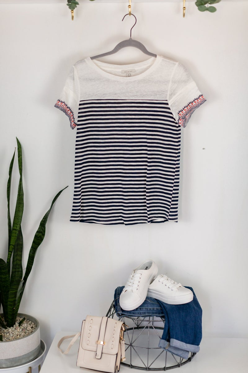 Cafe Society Top by Skies Are Blue