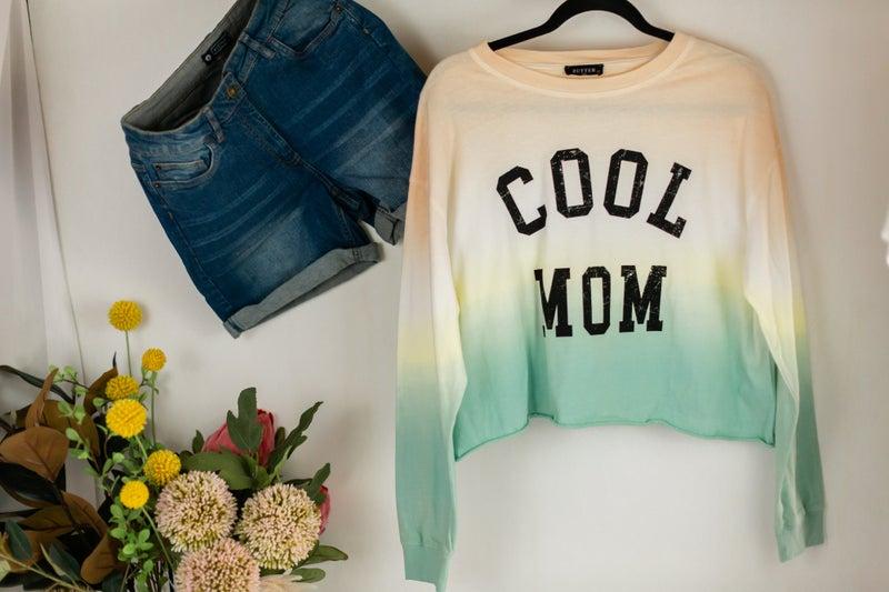 Cool Mom Tie Dye Pullover by Zutter