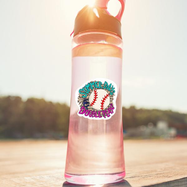 Summer Days & Double Plays Baseball Sticker