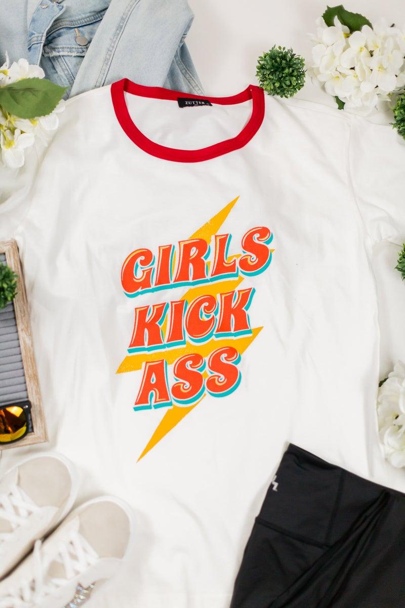 Girls Kick Ass Tee