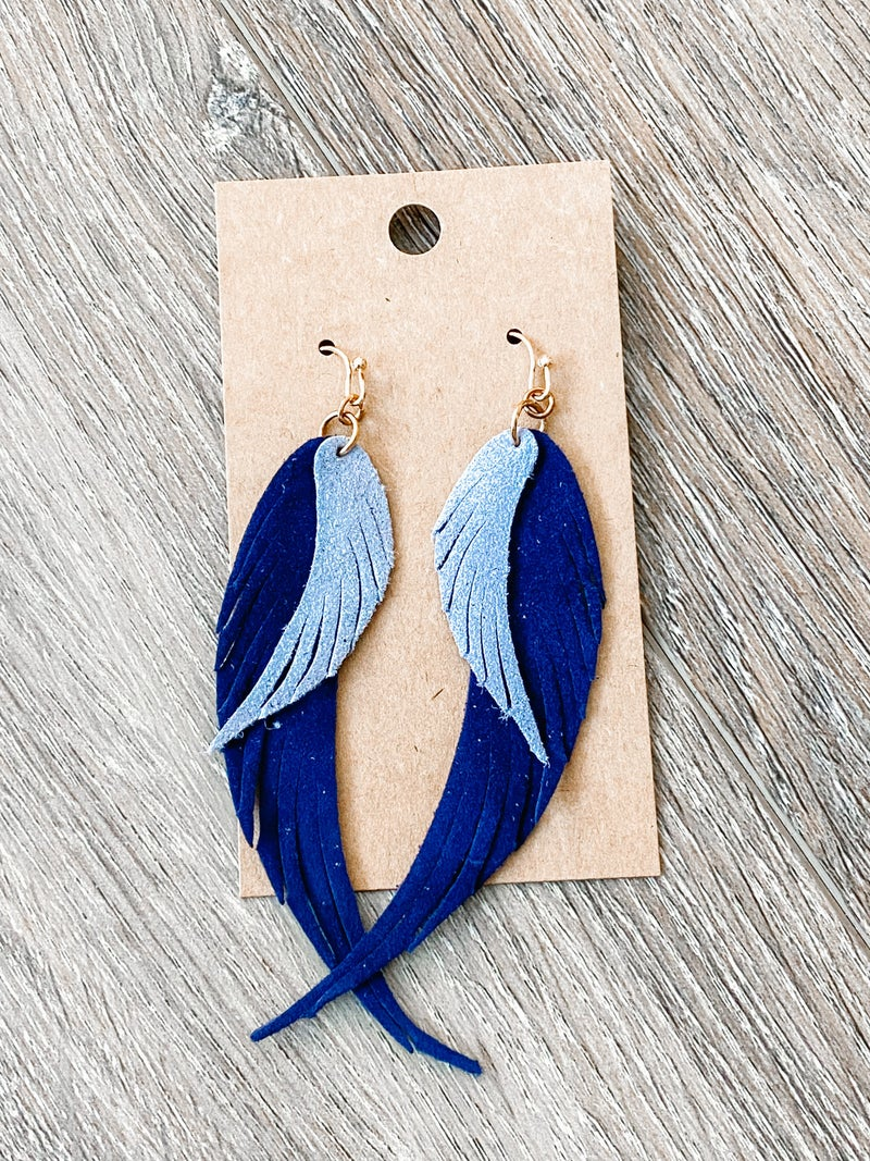 Winging It Earrings