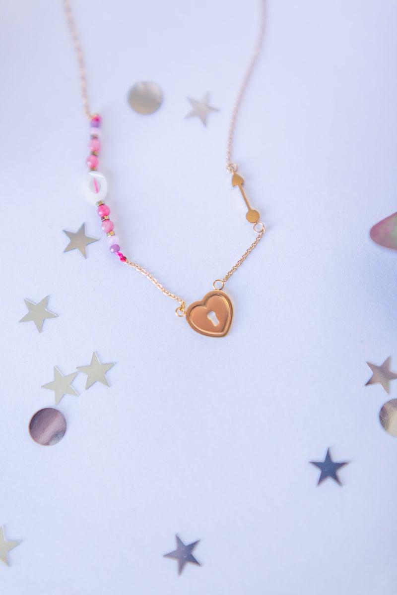 Lock My Heart Necklace