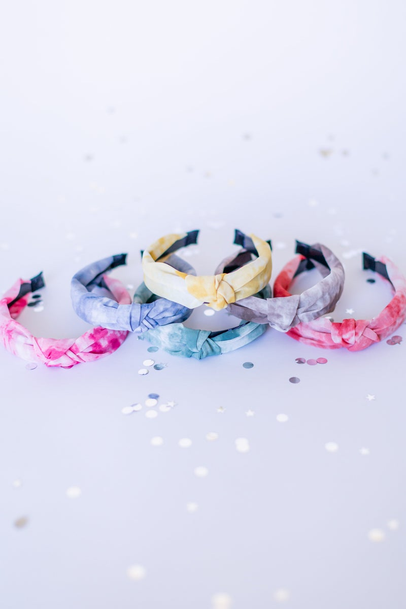 Brush Tie Dye Headband
