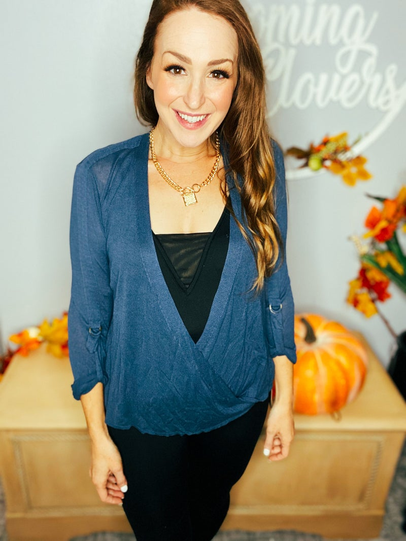 Fall Preview: Wrap Sweater by Mystree