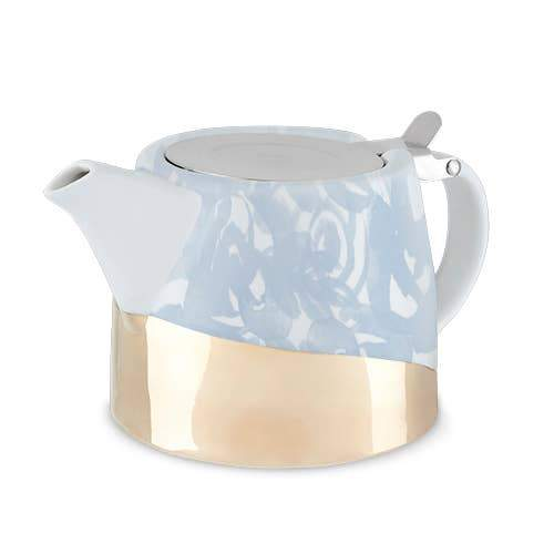Pinky Up - Harper Blue Floral Ceramic Teapot & Infuser by Pinky Up