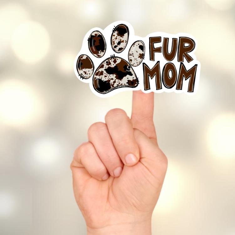 Fur Mom Sticker