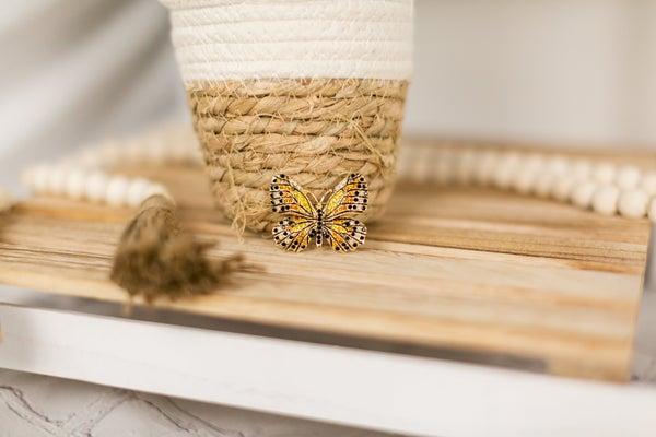 Monarch Butterfly Broach