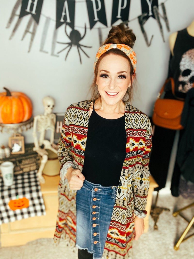 Aztec Vibes Cardy
