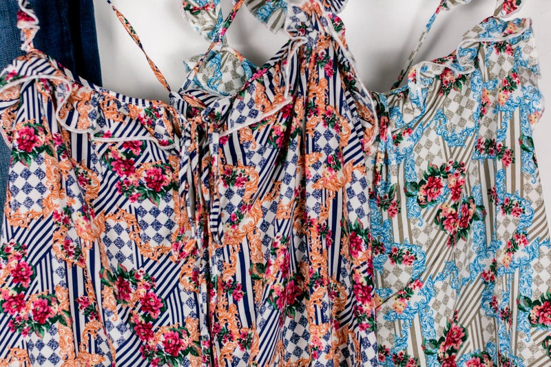 Patterns on Parade Top by Easel