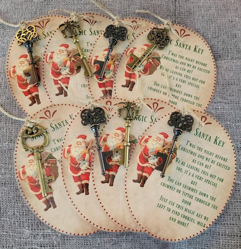 Magic Santa Keys