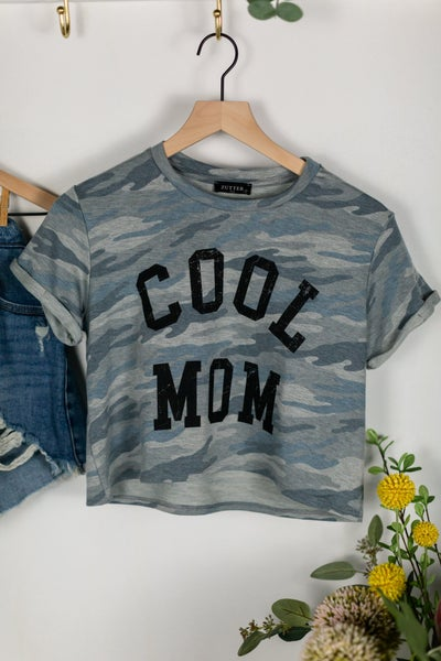Cool Mom Camo Tee by Zutter
