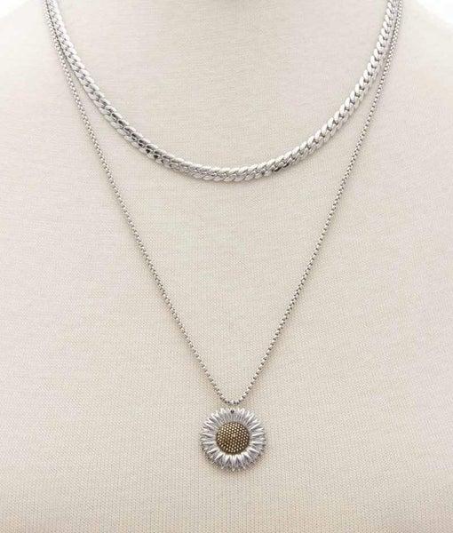 Sunflower Fields Necklace