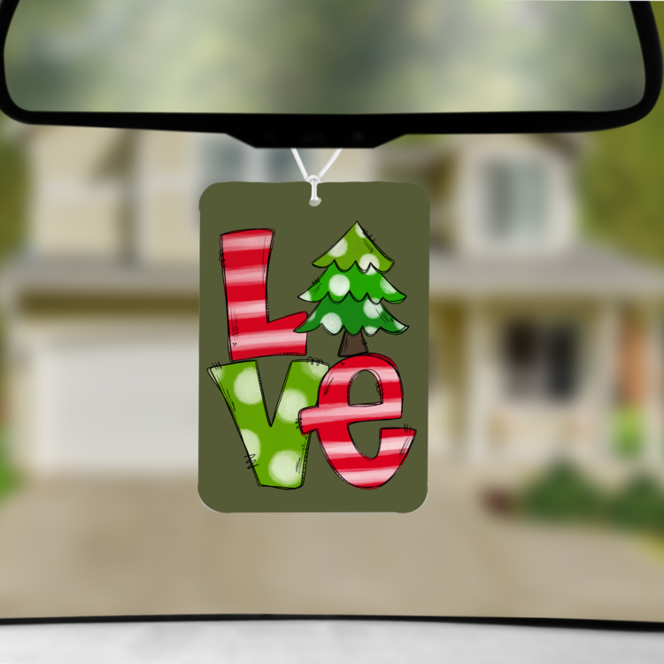 Holiday Car Freshies
