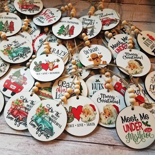 So Jolly Car Charms/Ornaments