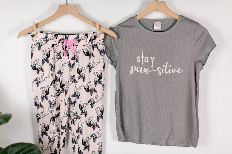 Stay Paw-sitive PJs