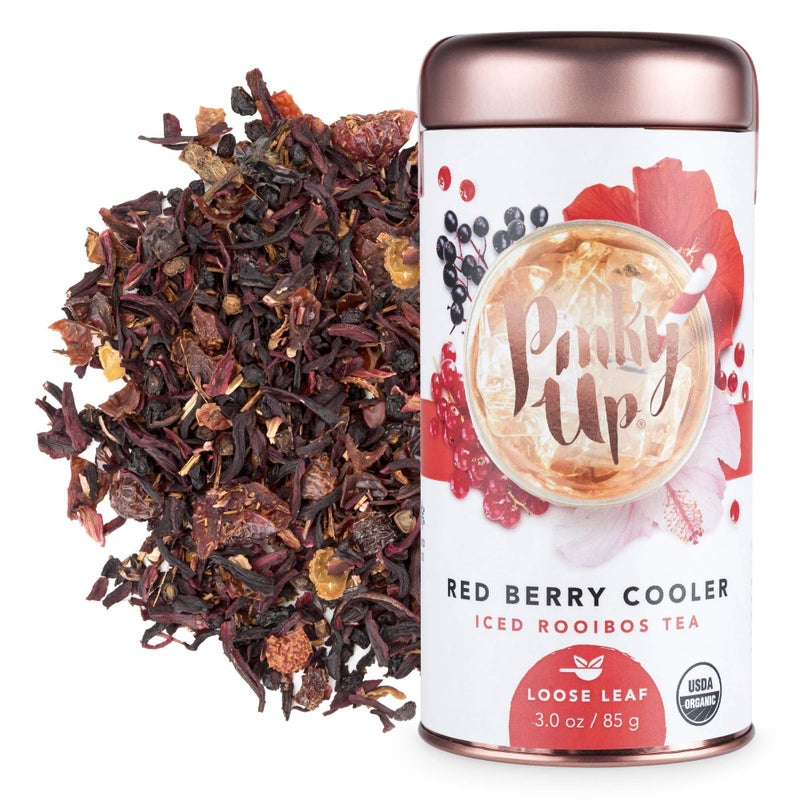 Pinky Up - Red Berry Cooler Loose Leaf Iced Tea