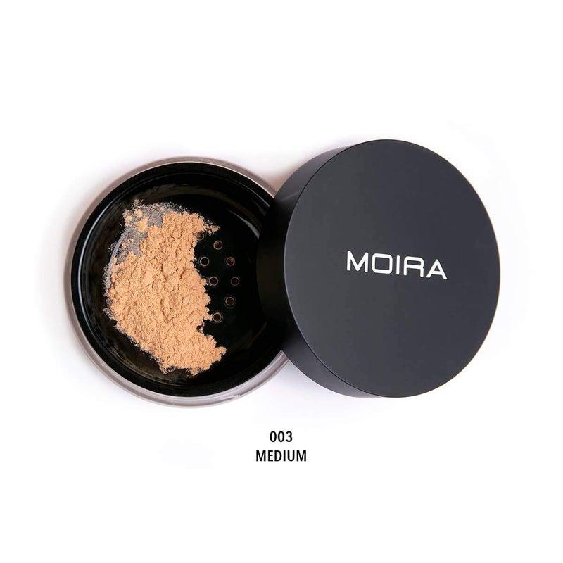 Moira Cosmetics - Loose Setting Powder - Medium