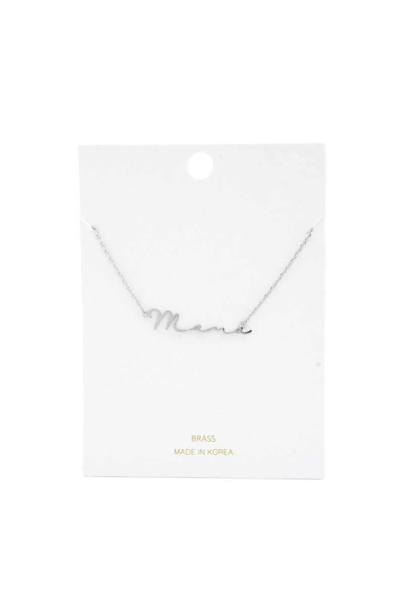 Sweetest Mama Necklace