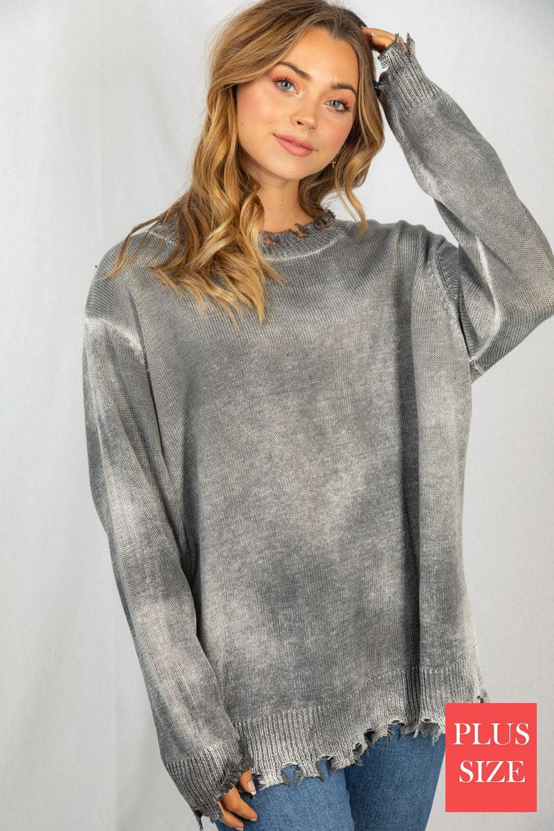 Mya Distressed Sweater