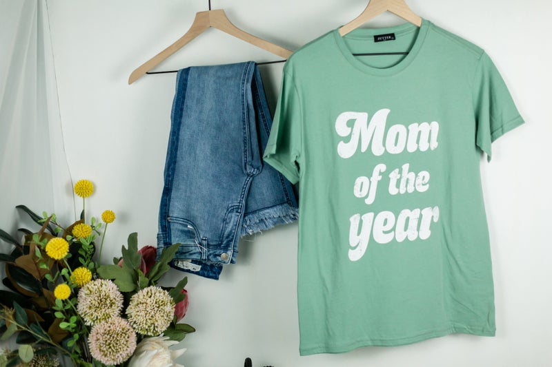 Mom of the Year Tee by Zutter