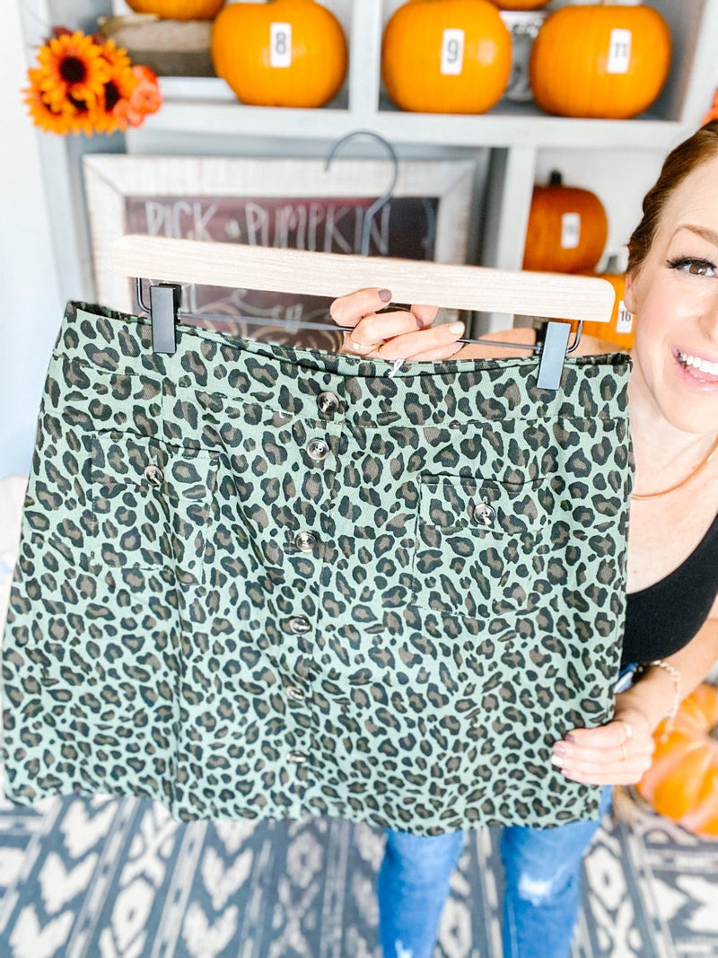 Plus Wild Out There Skirt